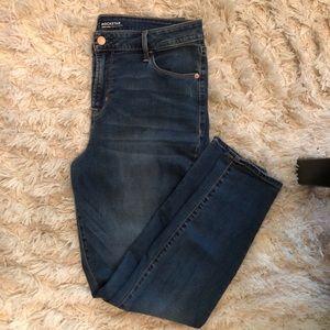 High rise Rockstar Jeans.